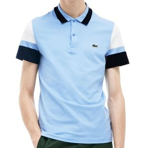 Lacoste PH4223 Colour Block Polo Light Blue