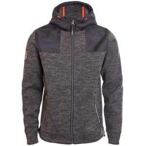 Superdry Mountain Zip Hoodie Black