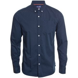 Superdry Classic Twill L/S Shirt Nordic Chrome Navy