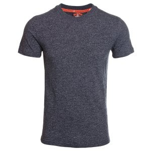 Superdry Urban Athletic Classic T-Shirt Oxide Black Feeder