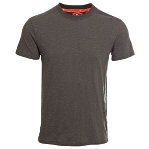 Superdry Urban Athletic Classic T-Shirt Olive/Black Feeder