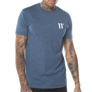 11 Degrees Core T-Shirt Twister Grey
