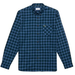 Lacoste CH0062 Check L/S Shirt Blue