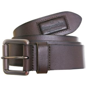 Superdry Badgeman Belt Dark Brown