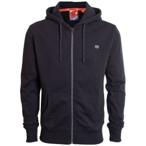 Superdry Collective Zip Hoodie Black