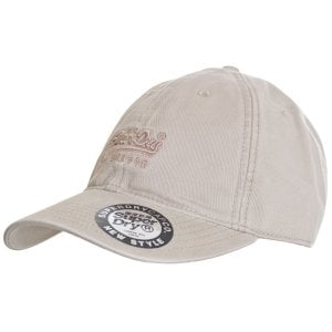Superdry Orange Label Cap Combat Brown