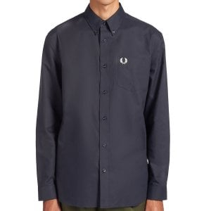 Fred Perry M8501 Oxford Shirt Navy