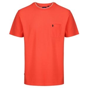 Luke 1977 Charmer T-Shirt Warm Coral