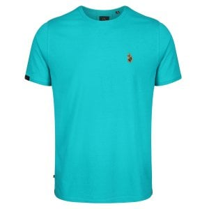 Luke 1977 Traff Core T-Shirt Washed Turquoise
