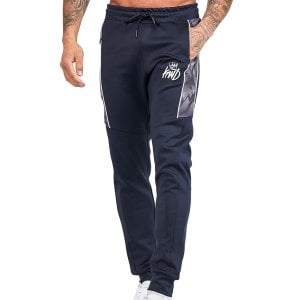 Kings Will Dream Hanely Geo Poly Joggers Navy