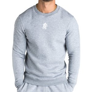 Gym King Basic Crew Sweatshirt Grey Marl