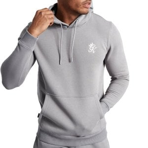 Gym King Basis Hoodie Silver Grey