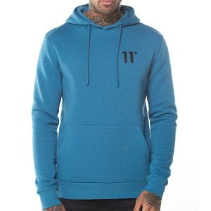 11 Degrees Core Pullover Hoodie Deep Water Blue