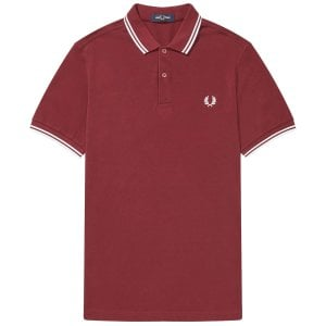 Fred Perry M3600 Twin Tipped Polo Port
