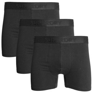 Superdry Classic Boxer Triple Pack Black