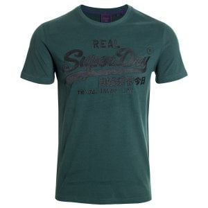 Superdry VL Embroidery T-Shirt Pine