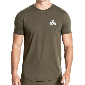 Bee Inspired Signature T-Shirt Khaki