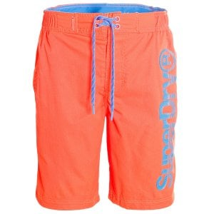 Superdry Classic Boardshorts Volcanic Orange