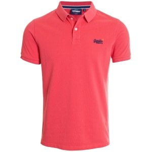 Superdry Classic Pique Polo Grapefruit Twist