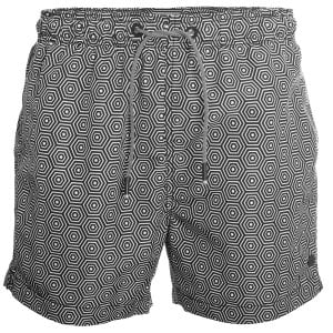 Superdry SD Studios Swim Shorts Mono Hex Black