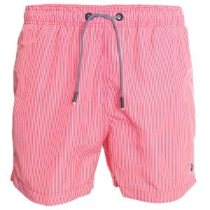 Superdry SD Studios Swim Shorts Rouge Red Stripe