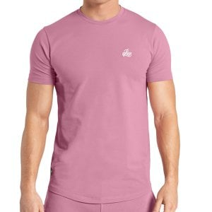 Bee Inspired Signature T-Shirt Mauve